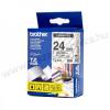 24mm Brother TZe-151 szalag átlátszó/fekete