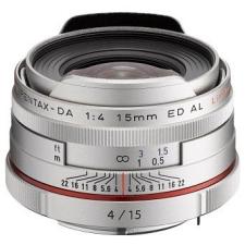 Pentax HD DA 15mm f/4 ED AL Limited (ezüst) objektív