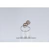 Saját készítésű ékszer Swarovski Swarovski gyűrű gyönggyel