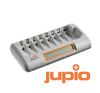 Jupio Octo Charger (charges 8 AA/AAA batteries) univerzális akkumulátor töltő
