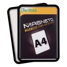 """TARIFOLD Mágneses tasak, mágneses háttal, A4, TARIFOLD """"Magneto"""", fekete irodai kellék"""
