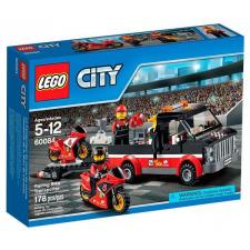 LEGO City Versenymotor-szállító kamion (60084) lego