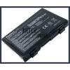 X70A 4400 mAh 6 cella fekete notebook/laptop akku/akkumulátor utángyártott