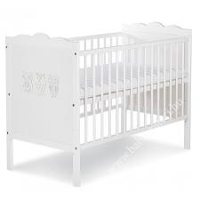 Klups Marsell kiságy 120x60 - fehér/bialy kiságy, babaágy