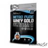 BioTech Nitro Pure Whey Gold epres vaníliakrém 454 g