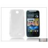 Haffner HTC Desire 310 szilikon hátlap - S-Line - transparent