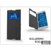 Kalaideng Sony Xperia C3 (D2533) flipes tok - Kalaideng Iceland 2 Series View Cover - black