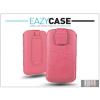 Eazy Case DECO SLIM univerzális bőrtok - Nokia Asha 300 - pink