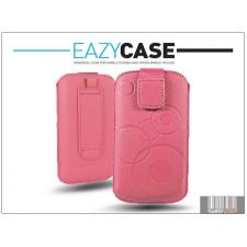 Eazy Case DECO SLIM univerzális bőrtok - Nokia Asha 300 - pink tok és táska