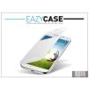 Eazy Case Samsung i9500 Galaxy S4 S View Cover flipes hátlap on/off funkcióval - EF-CI950BWEGWW utángyártott - white