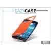 Eazy Case Samsung i9190 Galaxy S4 Mini View Cover flipes hátlap on/off funkcióval - EF-CI919BOEGSTD utángyártott - orange