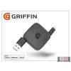 GRIFFIN Apple iPhone 5/5S/5C/iPad 4/iPad Mini USB - lightning töltő- és adatkábel 70 cm-es vezetékkel (Apple MFI engedélyes) - Griffin Retractable