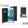 Muvit Apple iPhone 6 Plus flipes tok kártyatartóval - Muvit Wallet Folio - black