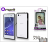 Made for Xperia MUVIT Sony Xperia E3 (D2203) hátlap - Made for Xperia Muvit My Frame - black/clear