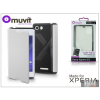Made for Xperia MUVIT Sony Xperia E3 (D2203) flipes tok - Made for Xperia Muvit Easy Folio - white