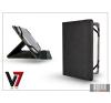 "V7 Apple iPad Mini/iPad Mini 2 + univerzális tablet tok 7-8"" méretű készülékig - V7 Universal Folio Stand - black tablet tok"