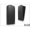 Haffner Slim Flexi Flip bőrtok - Sony Xperia C3 (D2533) - fekete