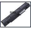Samsung P50 Pro T2600 Tygah 4400 mAh 6 cella fekete notebook/laptop akku/akkumulátor utángyártott samsung notebook akkumulátor