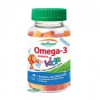 Jamieson Omega-3 Kids Gumicukor Vegyes ízű 60 db