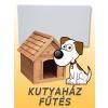 Kutyaház , padsorfűtĂŠs ( Fenix ECOSAN K+, 100W)