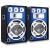 Skytronic Skytec hangfalpár, 38 cm mélynyomó, LED effekt