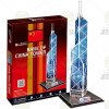 CubicFun Bank of China Tower 3D puzzle 14db - CubicFun