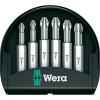 Wera Kereszthornyú PZ bitek Mini-Check PZ 50 mm 6 részes Wera 05056471001 Bit készlet PZ 1/PZ 2/PZ 3(1/4) 6,3 mmHossz:50 mm