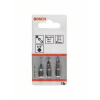 Bosch Csavarozó bit készlet extrakemény, 3 részes, T8, T10, T15, 152 mm Bosch 2607001763 hossz:25 mm