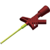 2 mm safety clamp-type test probe, grip jaws, 1000V CAT III