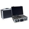Dörr Aluminum Case Titan 48 alukoffer előmetszett szivacsbetéttel és elválasztókkal, titánszürke