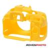 EasyCover szilikon védőtok Nikon D5200 sárga