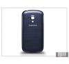 Samsung i8190 Galaxy S III Mini gyári akkufedél - kék tok és táska