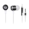 Gembird MHS-EP-001 mikrofonos fülhalgató, Fém, Fekete  (MHS-EP-001)