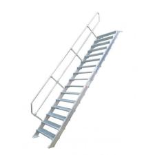 KRAUSE - Második korlát (Ipari lépcső 45°) 11 fokos létra és állvány