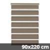 Easy fix doppel roló, mokka, ajtóra: 90x220 cm