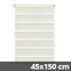 Easy fix doppel roló, krém, ablakra: 45x150 cm