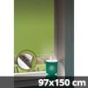 Hőszigetelő thermo mini roló, almazöld, ablakra: 97x150 cm
