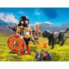 Playmobil Barbár harcos kutyával és tábortűzzel - 4769