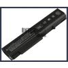 EliteBook 8440w 4400 mAh 6 cella fekete notebook/laptop akku/akkumulátor utángyártott
