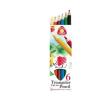 SZÍNES ceruza készlet, vastag, ICO
