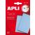 APLI Gyurmaragasztó, 57 g, APLI, kék (LCA11703)
