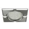 KANLUX Lámpatest álmennyezetbe illeszhető MR16 keret FIRLA billenő szatén króm CT-DTL50 Kanlux