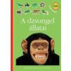 Móra Kiadó A dzsungel állatai - Matricás foglalkoztatókönyv