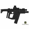 LEGO Fekete Modern Warfare : .45 Submachine gun