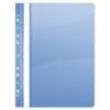 DONAU Gyorsfűző, lefűzhető, PVC, A4, DONAU, kék (10db)