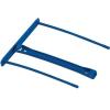 FELLOWES Lefűző klipp, műanyag, kék, 100 mm, FELLOWES (IFW00898)