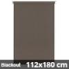Blackout roló, narancs, mokka: 112x180 cm