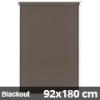 Blackout roló, narancs, mokka: 92x180 cm