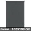 Blackout roló, szürke, ablakra: 162x180 cm