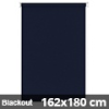 Blackout roló, sötétkék, ablakra: 162x180 cm